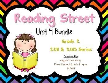 Reading Street, Grade 2, Unit 4 BUNDLE 2011 & 2013