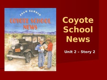 Reading Street Grade 4 Coyote School News Spelling PowerPoint