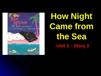 Reading Street Grade 4 How Night Came from the Sea Spellin