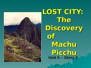 Reading Street Grade 4 Lost City Spelling PowerPoint
