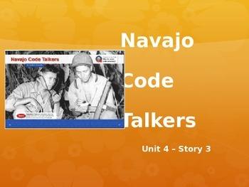 Reading Street Grade 4 Navajo Code Talkers Spelling PowerPoint
