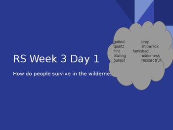 Reading Street Grade 5 Unit 1 Week 3 Island BUNDLE Days 1-