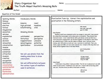 Reading Street, Grade 5, Unit 6 Stories 1-5