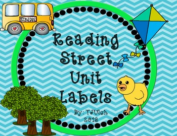 Reading Street Grade One Labels/Landscape
