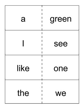 Reading Street- Grade1- Unit R High Frequency Word Cards
