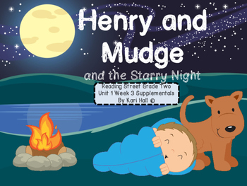 Reading Street Henry & Mudge & the Starry Night Unit 1 Wee