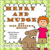 """Reading Street """"Henry and Mudge and Mrs. Hopper's House"""" A"""
