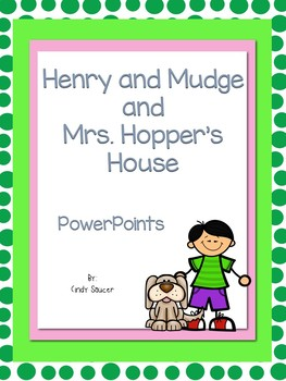 Reading Street, Henry and Mudge at Mrs. Hopper's House, In