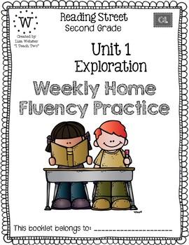 Reading Street Home Fluency Book Unit 1 Exploration