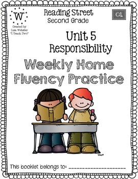 Reading Street Home Fluency Book Unit 5 Responsibility