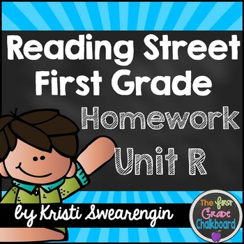 Reading Street Homework Packet: First Grade Common Core Re