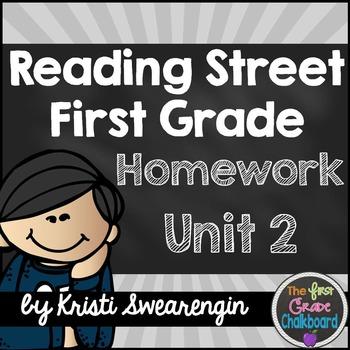 Reading Street Homework Packet: First Grade Unit 2
