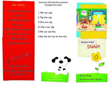 Reading Street- Informational trifold for Snap!