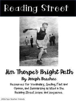 Reading Street Jim Thorpe's Bright Path
