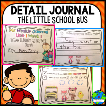 RS SideKick K Unit 1 Little Bus Detail Journals