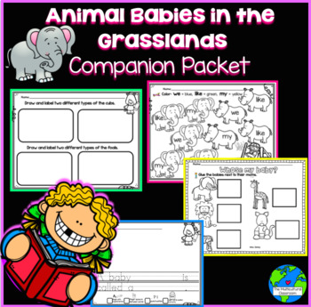 RS SideKick K Unit 2 Baby Animals in the grassland  {Compa