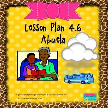 Abuela:  Editable Lesson Plan
