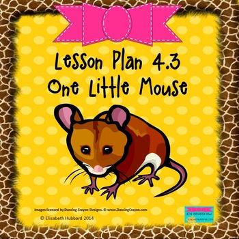One Little Mouse:  Editable Lesson Plan