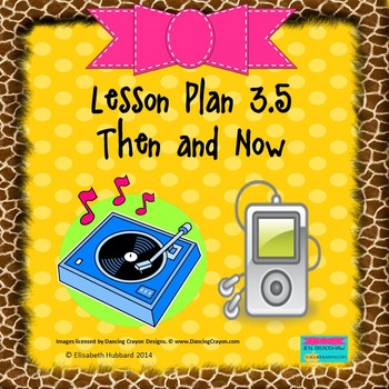 Then and Now:  Editable Lesson Plan