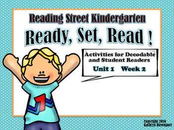 Reading Street Kindergarten Decodable Readers  Ready, Set,