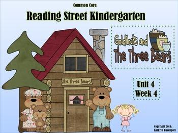 Reading Street Kindergarten Goldilocks and the Three Bears