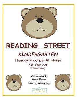 Reading Street Kindergarten Home Practice Fluency