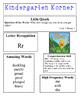 Reading Street Kindergarten Korner for Unit 3