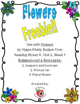Flowers freebie
