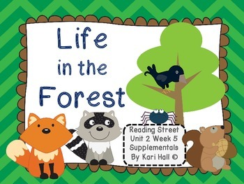 Reading Street Life in the Forest Unit 2 Week 5 Differenti