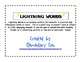 Reading Street Lightning Words HFW review for units 1-5