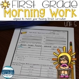 1st Grade Morning Word Work Unit 5