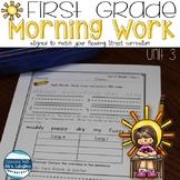 1st Grade Morning Word Work UNIT 3