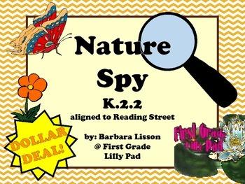 Reading Street NO-PREP Printables: (Nature Spy)