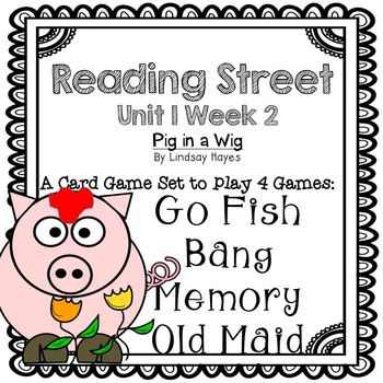 Reading Street: Pig in a Wig 4-in-1 Spelling and HFW Games