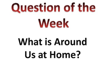 Reading Street Unit R- Question of the Week