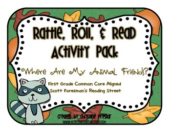 Reading Street - Rattle, Roll, & Read Act. Pack - {Where A