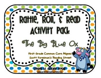 Reading Street - Rattle, Roll, & Read Activity Pack - {The