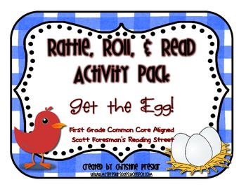 Reading Street - Rattle, Roll, and Read Activity Pack - {G