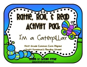 Reading Street - Rattle, Roll, and Read Activity Pack - {I