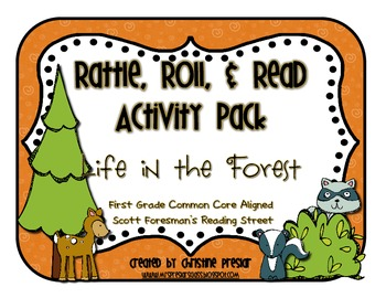 Reading Street - Rattle, Roll, and Read Activity Pack - {L