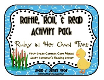 Reading Street - Rattle, Roll, and Read Activity Pack - {R