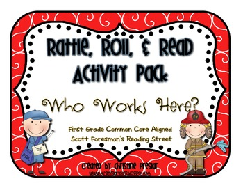 Reading Street - Rattle, Roll, and Read Activity Pack - {W