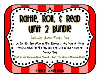 Reading Street - Rattle, Roll, and Read Activity Packs Bun