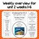 Reading Street Refrigerator Copy Unit 2 Weeks 1-6