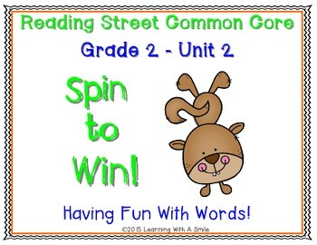 Reading Street SECOND GRADE Unit 2 Spelling, High-Frequenc