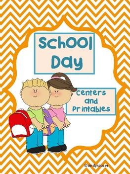 Reading Street, School Day,  Centers and Printables For Al