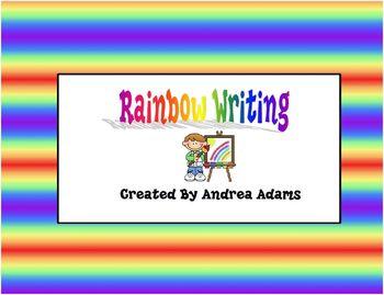 Reading Street Scott Foresman Units 1-5 Grade 1 Rainbow Writing