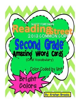 Reading Street Second Grade Amazing Words (2013 Common Cor