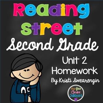 Reading Street Second Grade Homework Unit 2