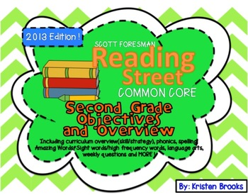 Reading Street Second Grade Objectives and Overview (Scope